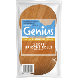 Photo of Genius Gluten Free Genius Brioche Burger Buns 2pk