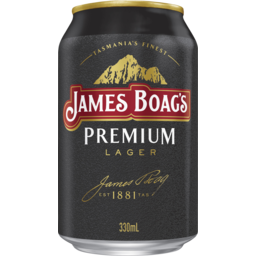 Photo of James Boags Premium Cans