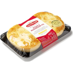 Photo of Steak/Mushroom Pies 2pk Baked Provisions