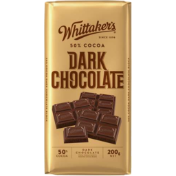 Photo of Whittaker's 50% Dark Block 200gm