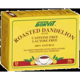Photo of Bonvit Roasted Dandelion Blend 32 Filter Bags 90gm