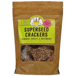 Photo of C/C Superseed Crackers Garlic & R/Mary