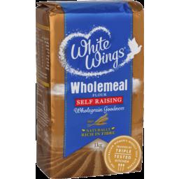 Photo of White Wings Wholemeal Self Raising Flour 1kg