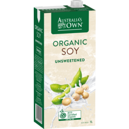 Photo of Australias Own Organic Malt Free Soy Milk 1l