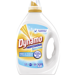 Photo of Dynamo Professional Sensitive Free & Clear Liquid Laundry Detergent, 1.8l