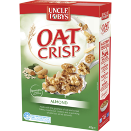 Photo of Uncle Tobys Oat Crisp Almond 415g