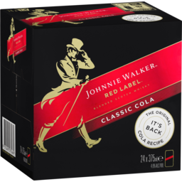 Photo of Johnnie Walker Red Label & Cola Cube