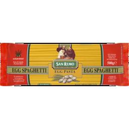 Photo of San Remo Spaghetti Egg 500g