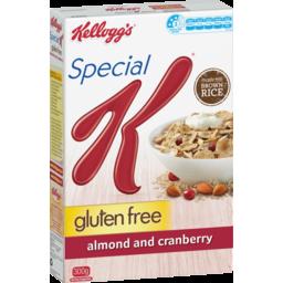 Photo of Kellogg's Kelloggs Special K Gluten Free Almond & Cranberry 300g