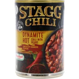 Photo of Stagg Chili Dynamite Hot With Beans 425g
