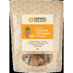 Photo of Topwill Organic Dried Pineapple 100g