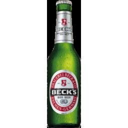 Photo of Becks Beer Bottles