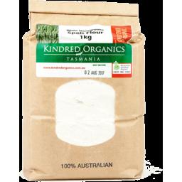 Photo of Kindred Organics - Spelt Wholemeal Flour - 1kg
