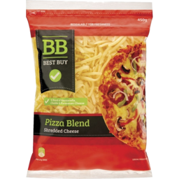 Photo of Best Buy Cheese Pizza Shredded 450gm
