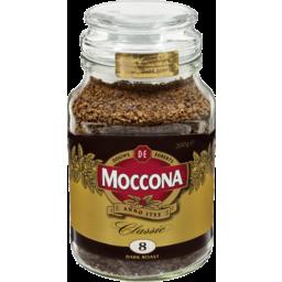 Photo of Moccona Freeze Dried Instant Coffee Classic Dark Roast Jar 200g