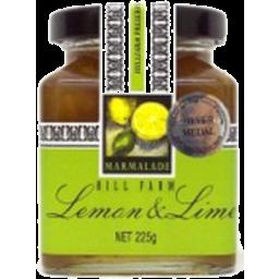 Photo of Hill Farm Marmalade Lemon & Lime 225gm