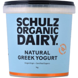 Photo of Schultz Organic Greek Yoghurt 1kg