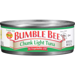Photo of Bumble Bee Chunky Light Tuna In Vegetable Oil