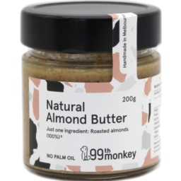 Photo of 99th Monkey- Almond Butter 200g