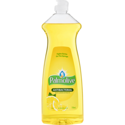Photo of Palmolive Regular Dishwashing Liquid Antibacterial With Lemon Extracts Tough On Grease 750ml