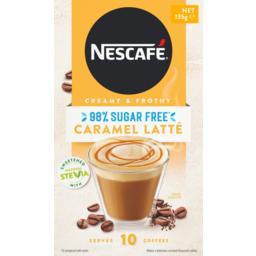 Photo of Nescafe Coffee Mixes 98% Sugar Free Caramellatte 13.5gx10