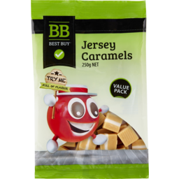 Photo of Best Buy Jersey Caramels 250gm
