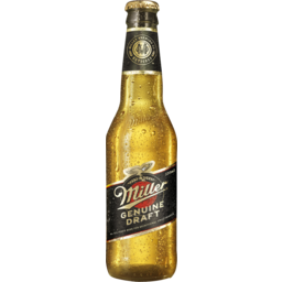 Photo of Miller Genuine Draft Bottles