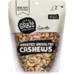Photo of  Graze Roasted Unsalt Cashew 500