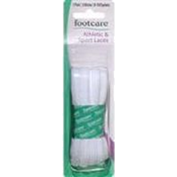Photo of Footcare Laces Athletic White 120cm 1pk