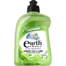 Photo of Earth Choice Green Tea & Lime Concentrate Dishwash Liquid 500ml