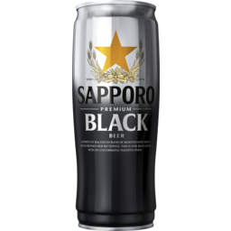 Photo of Sapporo Premium Beer Black Can