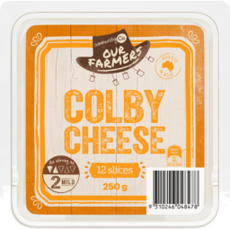 Photo of Community Co Colby Cheese Slices 250g