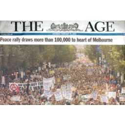 Photo of The Age Newspaper (Sunday)