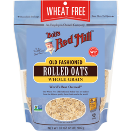 Photo of Bob's Red Mill Cereal - Rolled Oats - Old Fashioned (Wheat Free)