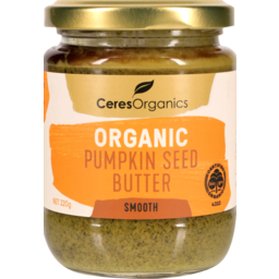 Photo of Ceres Organics Organic Pumpkin Seed Butter Smooth 220g
