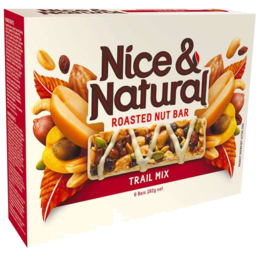 Photo of Nice & Natural Roasted Nut Bar Trail Mix 192g 6pk