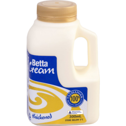 Photo of Betta Thick Cream 35% Bottle 300ml
