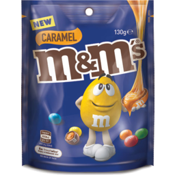 Photo of M&M's Caramel Chocolate Medium Bag 130g