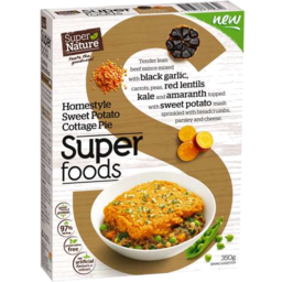 Photo of Super Nature Homestyle Sweet Potato Cottage Pie 350gm