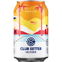 Photo of Club Setter Seltzer Tropical Can 330ml
