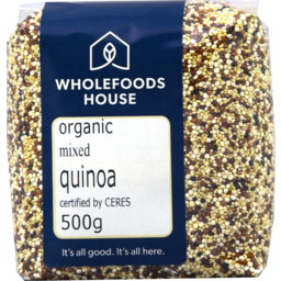 Photo of Wholefoods House Quinoa Mixed 500g