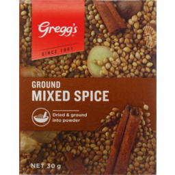 Photo of Gregg's Seasoning Packet Ground Mixed Spice 30g