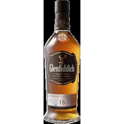 Photo of Glenfiddich 18 Year Old Single Malt Scotch Whisky 700ml