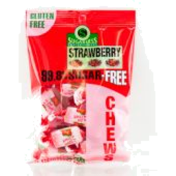 Photo of Strawberry Flavour Chews 70g