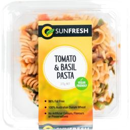 Photo of Sunfresh Tomato & Basil Pasta Salad 300g