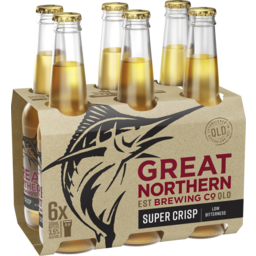 Photo of Great Northern Brewing Co Super Crisp Lager Stubbi