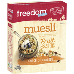 Photo of Freedom Foods Muesli Fruit & Seeds 500gm