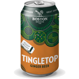 Photo of Boston Brewing Tingletop Ginger Beer