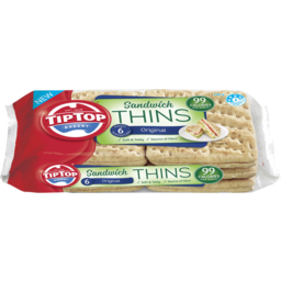 Photo of Tip Top Sandwich Thins Original 6 Pack