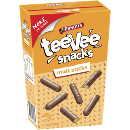 Photo of Arnott's TeeVee Snacks Malt Sticks Biscuits 315g